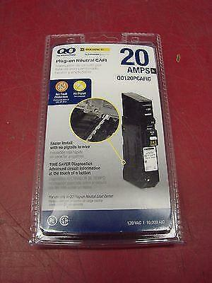 Square D Qo120Pcafic 20A Combination Arc-Fault Plug In Breaker New