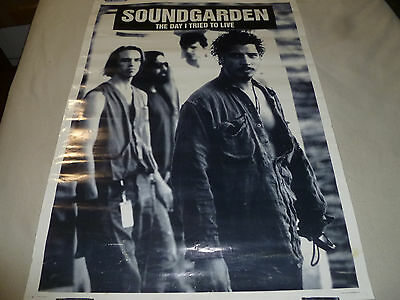 Soundgarden The Day I Tried To Live Concert Poster Print Hard Rock Metal