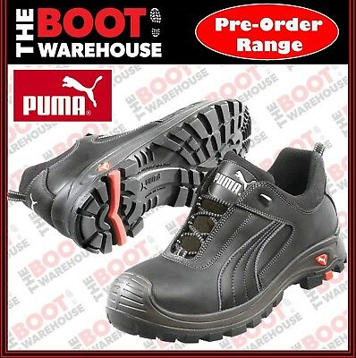 Puma Cascade 640427. Premium Leather, Light Composite Toe Cap Safety Work Boot
