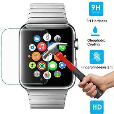 Premium Tempered Glass Film Screen Protector For iWatch Apple Watch 38mm 42mm