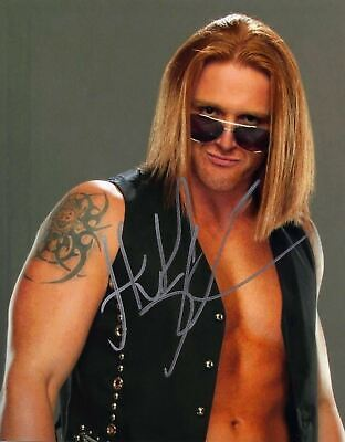 Heath Slater Signed 10X8 Photo WWE WWF UFC Genuine Signature AFTAL COA (7013)