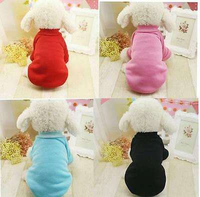Pet Dog Cat Puppy Sweater Hoodie Coat For Small Dog Clothes Warm Costume Apparel