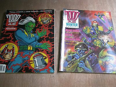2000Ad Winter Specials (**hard To Find**)