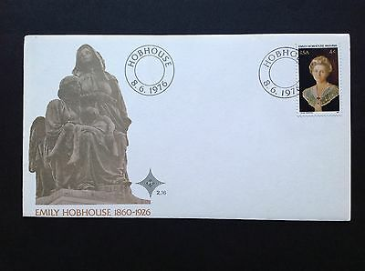 South Africa FDC 1976 Emily Hobhouse
