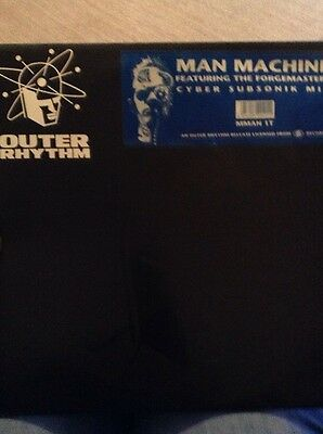 Man Machine Featuring The forgemasters Cyber Subsonic Mix 1989