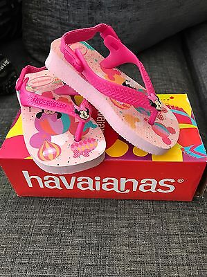 Havaianas Baby Size 4 Brand New In Box