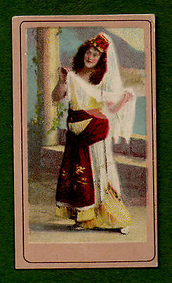 1903 British American Tobacco Cigarette Card Beauties Group 1 (D)