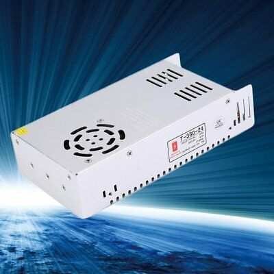 360W 24V 15A Universal Regulated Switching Power Supply for LED Strip CCTV UK