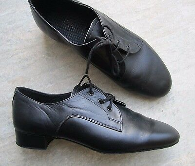 Mens Size 7 Black Ballroom Shoes *NEW*International