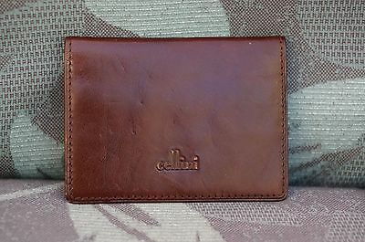 Cellini Genuine Leather Credit Cards  Wallet