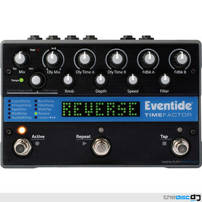 Eventide TimeFactor Delay Pedal, Effects Processor