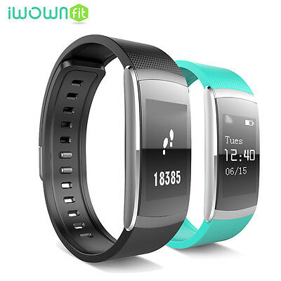 Iwown I6 Pro Impermeable Sport Bluetooth Banda inteligente For Android IOS Verde
