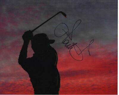 Ian Poulter Signed 10X8 Photo Ryder Cup Legend AFTAL COA (3053)