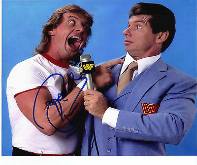 Rowdy Roddy Piper SIGNED 10X8 Photo Genuine Autograph AFTAL COA (A)