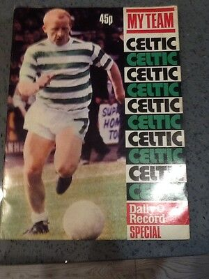 Celtic My Team - Daily Record Special 1972