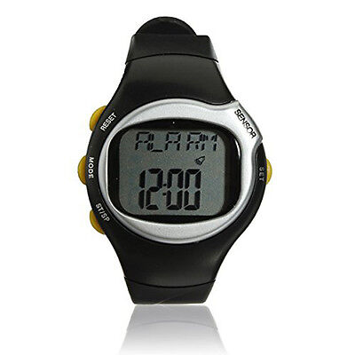 2x(Sport Pulse Heart Rate Monitor Calories Counter Fitness Wrist Watch Y2G8