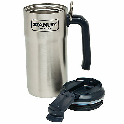 STANLEY Adventure Steel Travel Mug Thermo Isolierbecher Kaffee Trink Becher 0,5L