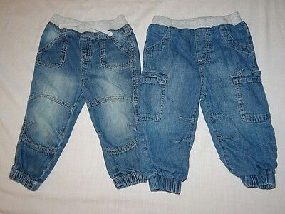 BABY BOYS JEANS. 6-9 Months. Small Bundle.