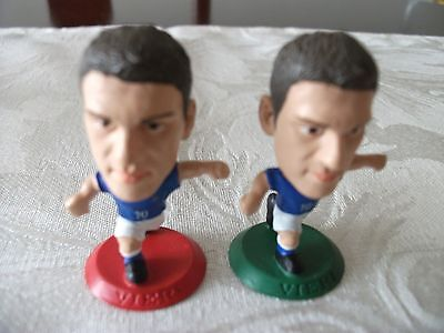 Microstars - Vieri On Green And Red Base