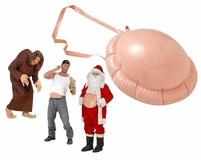 Inflatable Belly/Hunchback Santa Claus/ Beer Belly Adult Fancy Dress Accessory