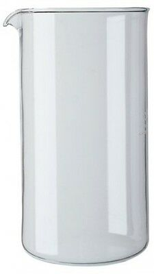 Bodum 8 Cup Coffee Press Replacement Beaker, Glass