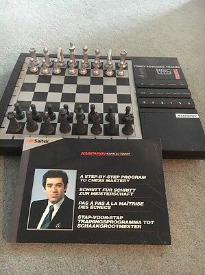 Vintage Electronic Chess Trainer Board