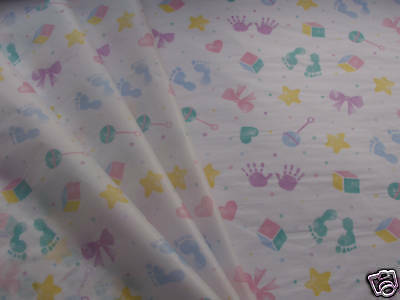 10 Baby Patterned Pink Blue tissue paper  boy girl