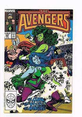 Avengers # 297 Futures Imperfect ! Thor She-Hulk resign ! grade 8.0 scarce !!
