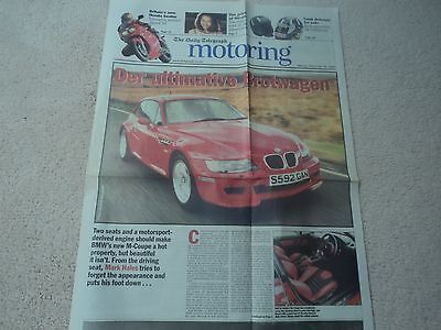 BMW M Coupe - Road Test (Daily Telegraph Motoring Supplement) - 1998