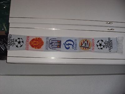 Manchester United Champions League Group G 2000 Scarf