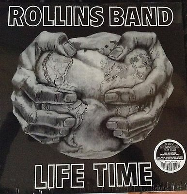 Rollins Band Life Time Download Code Included Vinyl Remastered Lp New And Sealed