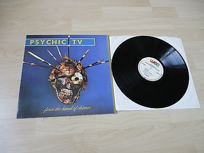 Psychic Tv Force The Hand Of Chance Lp Original German Vinyl  Throbbing Gristle