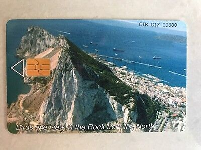 PHONE CARD - Gibraltar £8 100units Collectors PHONECARD