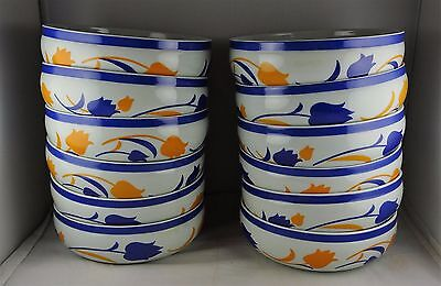 12 Block Vista Alegre China Hearthstone Tulip Coupe Soup/Cereal Bowls