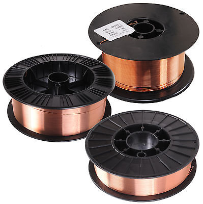 0.8Mm 1Kg 5Kg 15Kg Mild Steel Copper Coated Mig Weld Welding Wire Spool Reel