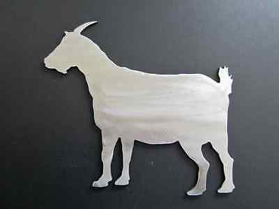 PYGMY GOAT 7 inch metal steel silhouette USA MADE NOT PAINTED bare metal