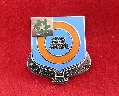 WW2 CREST 41st INFANTRY REGIMENT DUI - 2nd ARMORED DIVISION