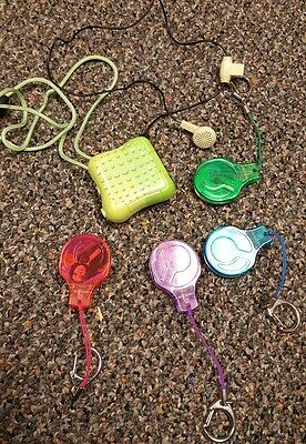 Tiger Electronics Hit Clips Disc Player and 4 Disk WORKS SHIPS FREE