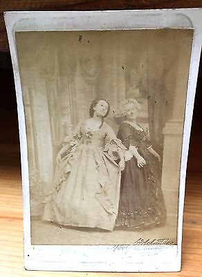 Antique Victorian Carte de Visite of English Actress Mary Anne Sterling