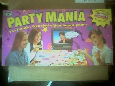 Parker Party Mania 1994 Vhs Game 100% Complete