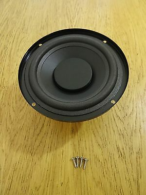 "JVC  6"" Woofer Bass Driver Speaker Replacement Part 4 Ohms Magnetically Shielded"