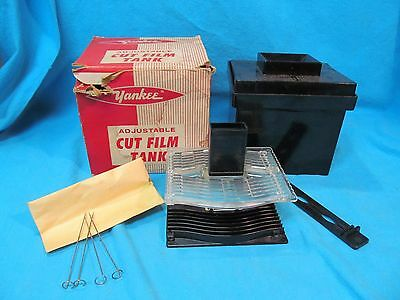 YANKEE ADJUSTABLE CUT & PACK FILM DEVELOPING TANK IN BOX UP TO 4x5