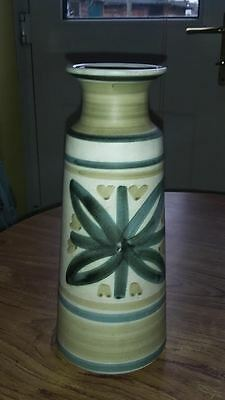 Vintage Cinque Ports Pottery Rye Hand Painted Vase