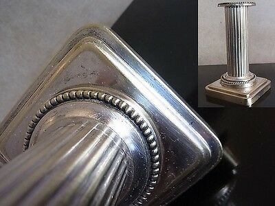 Pair of Silver French candlestick Candlestick candlesticks bronze 19th