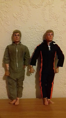 Action man vintage 1970's Figures with moving eyes