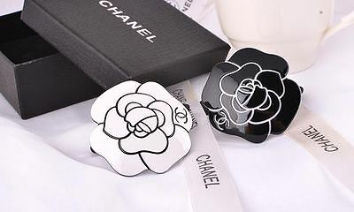 Chanel VIP Gift Camellia hair ties  White and Black