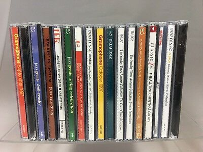 Job Lot Music Cd Classical and Jazz - 17 CDs bundle 99p start no reserve