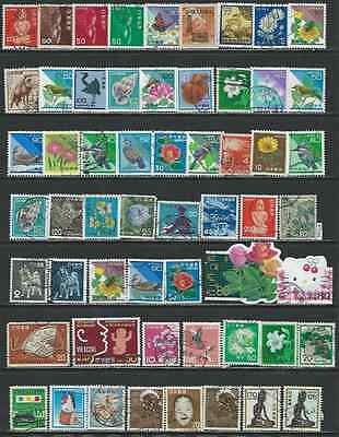 #7546 JAPAN Lot of Used Stamps