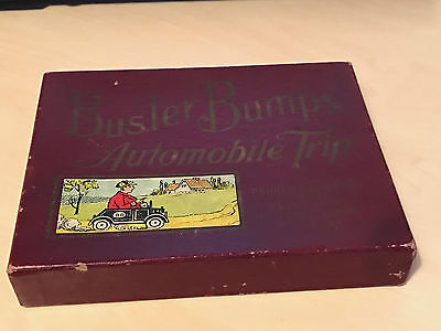 Vntage Buster Bumps Automobile Trip Game by Parker Brothers