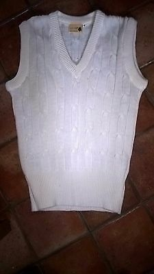 "Boy's 1930-style cricket jumper, 38"" chest, excellent condition"